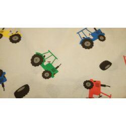 Traktoros babzsákfotel anyagmintája